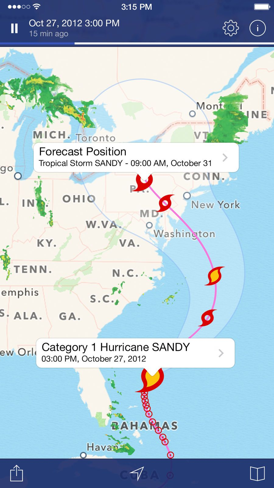 NOAA Radar Pro Weather Alerts AppsApaloniosTravel