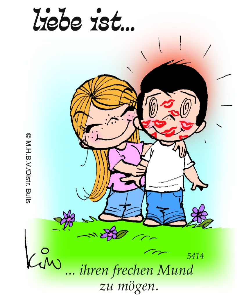 """""""Liebe ist…: Die legendären Cartoons jetzt auch bei"""