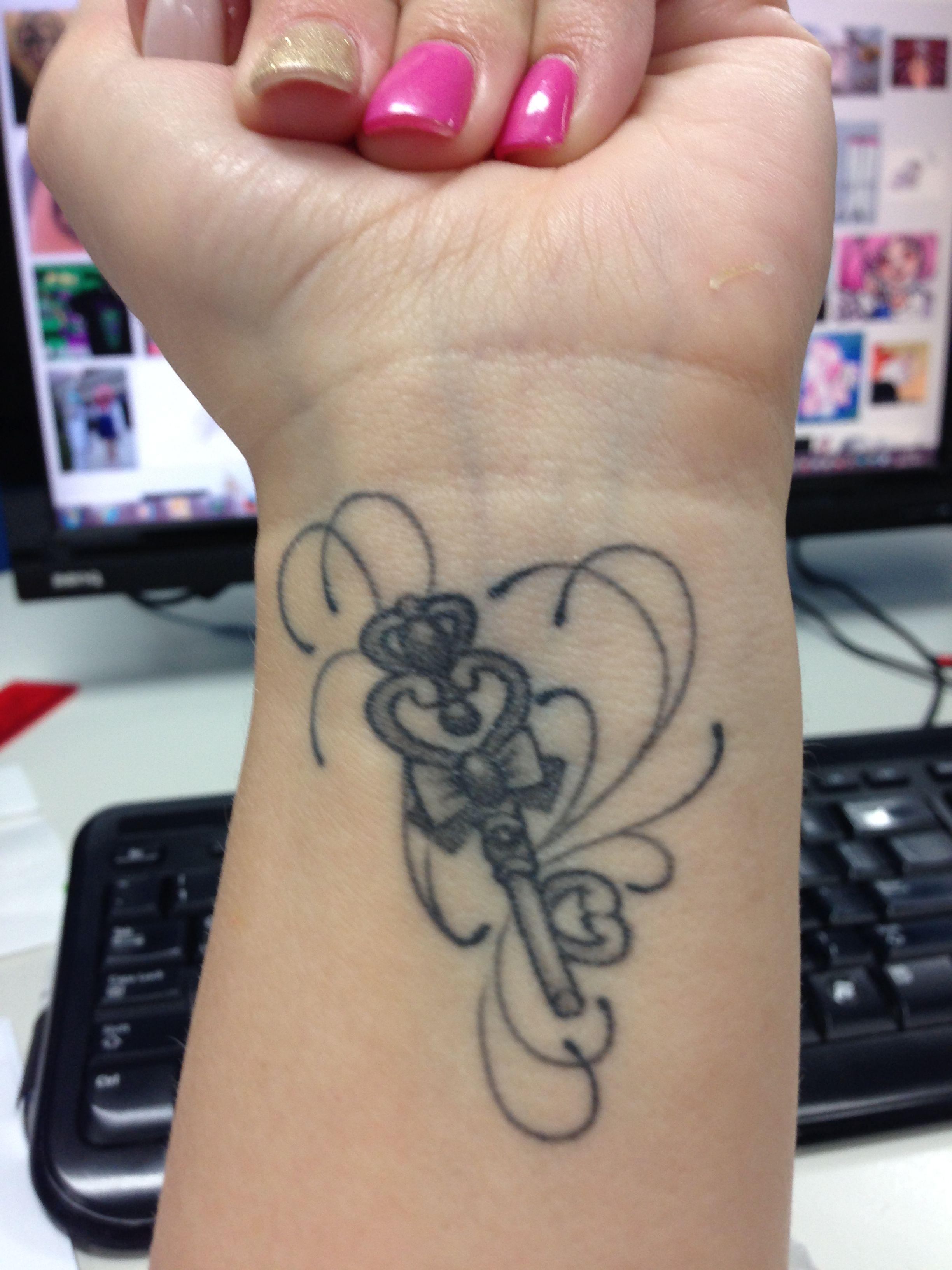 Sailor Moon, Chibiusa's Time Key tattoo