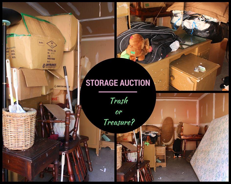 Storage Unit Auction Trash Or Treasure Storage Unit Auctions Storage Unit Storage Auctions