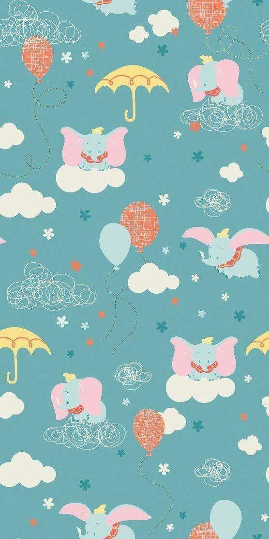 Dumbo Phone Wallpaper In 2019 Disney Phone Wallpaper