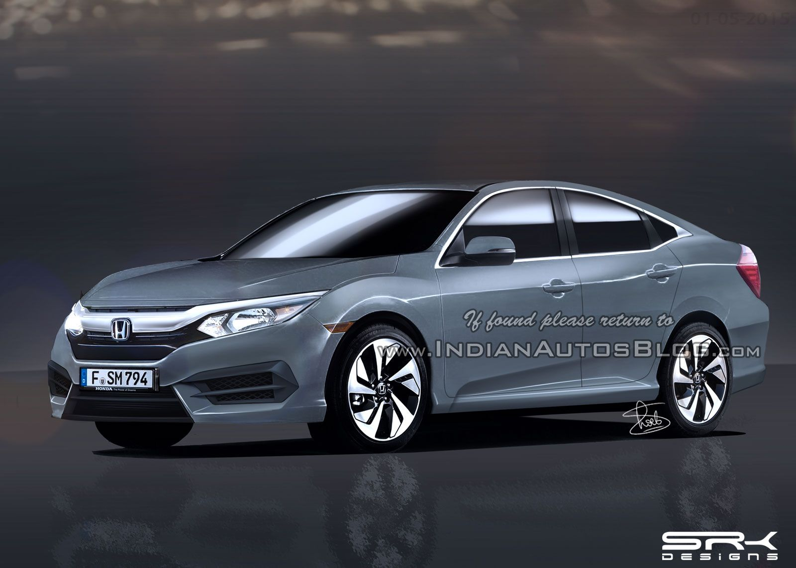 All new 2016 honda civic sedan to launch in mid 2016