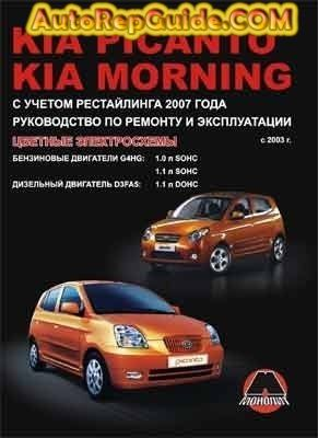 Download Free Kia Picanto Morning 2003 Repair Manual Maintenance And Operation Image By Autorepguide Com Picanto Kia Picanto Kia