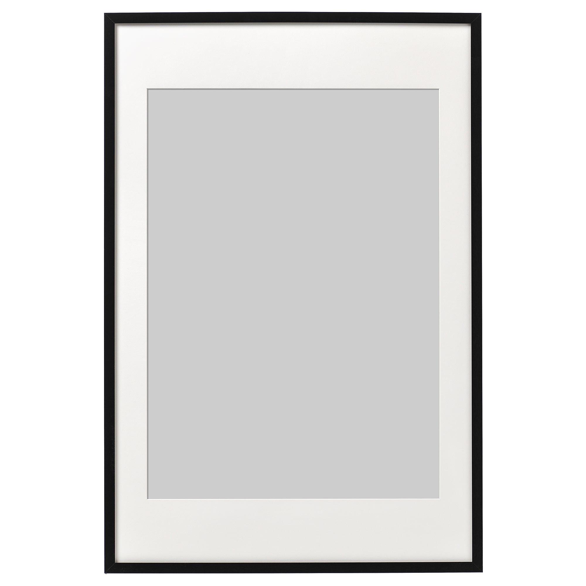 RIBBA Fotolijst, zwart, 61x91 cm IKEA in 2020 Ribba