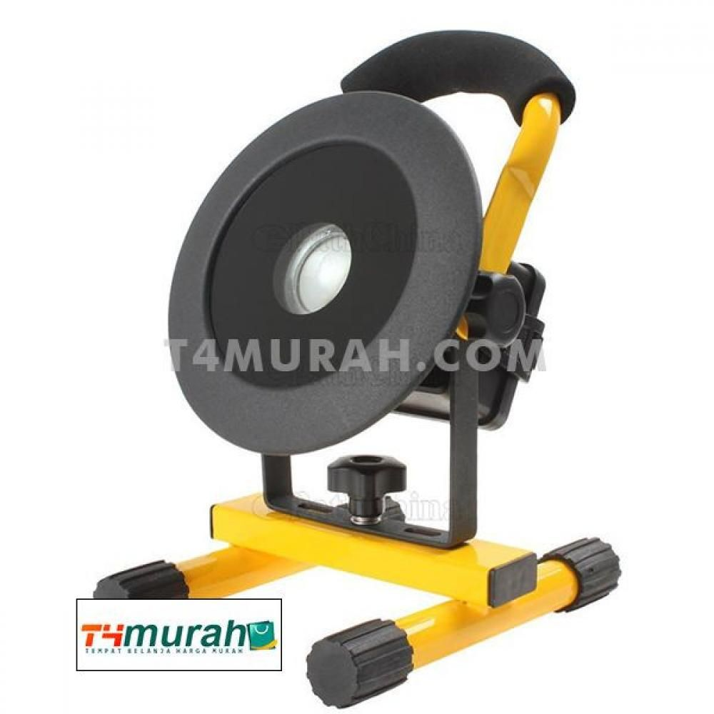 Lampu Sorot Taman Led Flood Lights 30w Rechargeable Portable Model Bulat Lampu Sorot Lampu Led Lampu