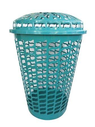 a4e7c71784e Holds Your Dirty Clothes - Tall Round Laundry Hamper - Aqua - Necessary Dorm  Items