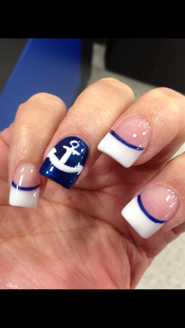 Great for a cruise! | Nails | Pinterest | Cruises, Cruise nails and ...