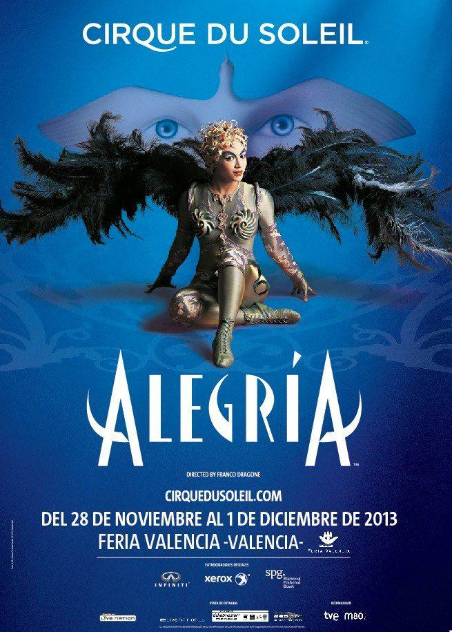 Alegria Cirque Du Soleil Feria Valencia Concierto