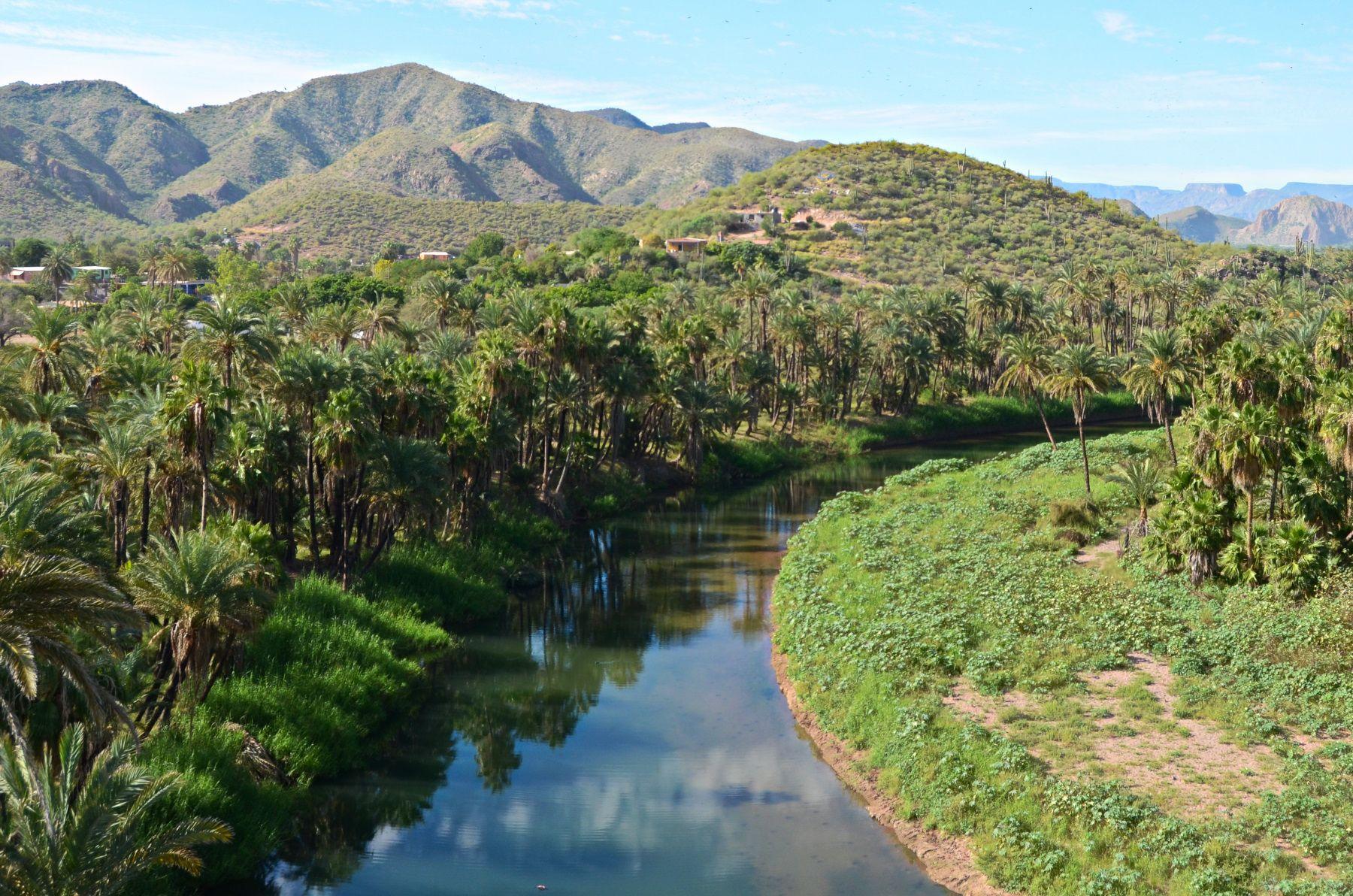 Heroica Mulege - a beautiful oasis village in Baja California Sur, Mexico