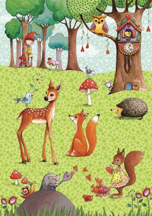 Mila Marquis art animals illustration