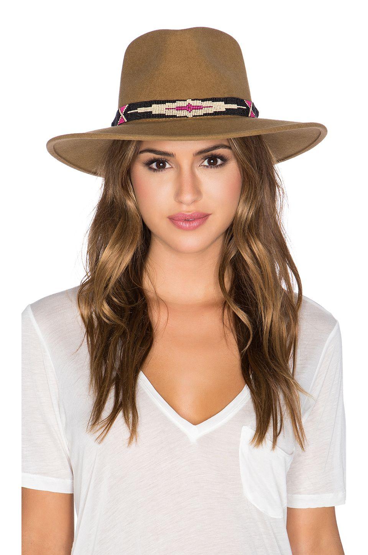 Camille Hat in Brown FQhHYvp
