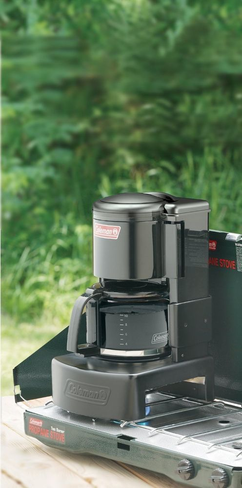 Coleman Camping Coffee Maker 10 Camp Cup Drip Coffeemaker Portable Outdoor Burne #Coleman
