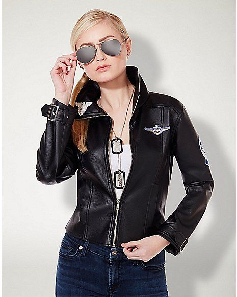 Adult Charlie Bomber Jacket Top Gun Spencer S Things Maddy