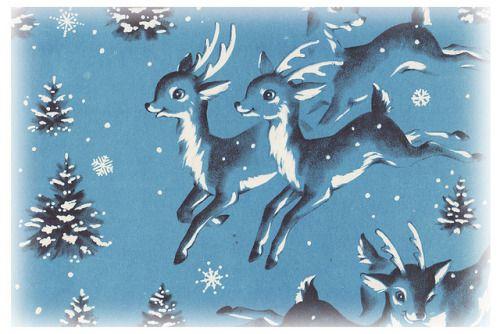 Blue Deer by Calsidyrose on Flickr.