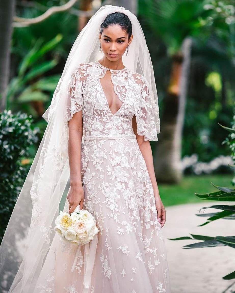 Chanel Iman S Wedding To Sterling Shepherd Wedding Dresses