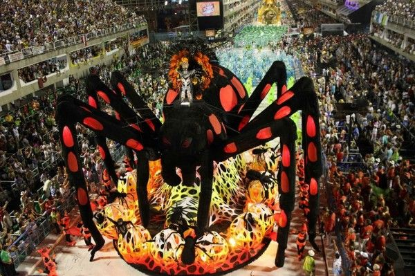 If you love variety, energy and novelty, you're going to love the Rio Carnival. #Rio #Carnival #Travel #Brasil