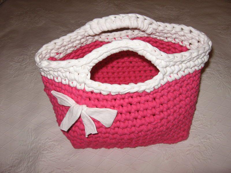 Tuto sac zpagetti 022 crochet et tricot pinterest tuto sac tuto et sac - Ouvrages au crochet avec explication ...