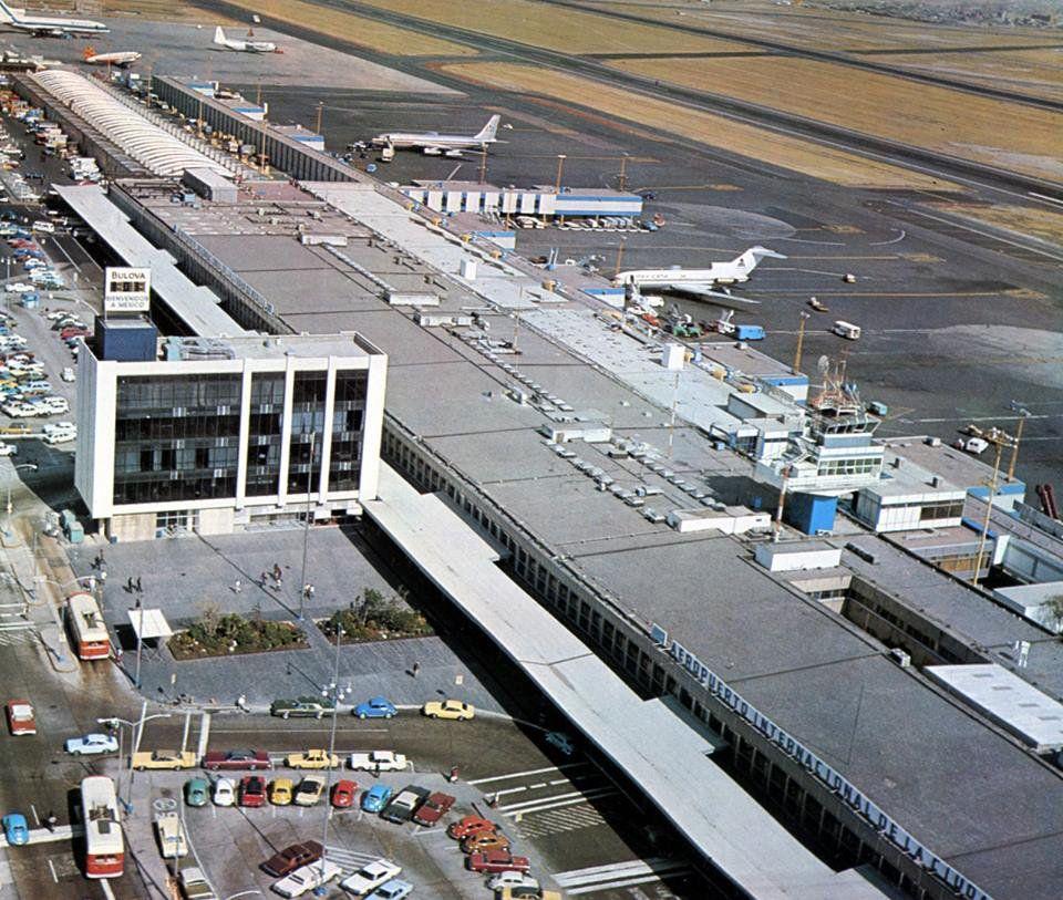 1974, Aeropuerto Internacional De La Cd. De México.