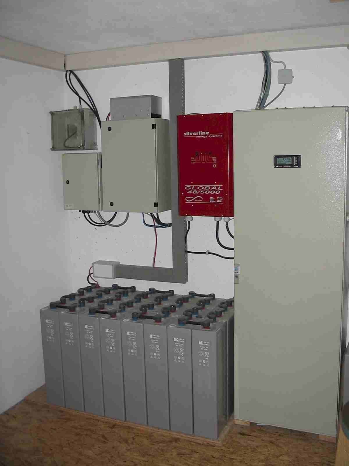 Off Grid System For A One Family House Without Connection Electrical Circuit Breaker Panel Diagram Http Knowledgepublications Picture