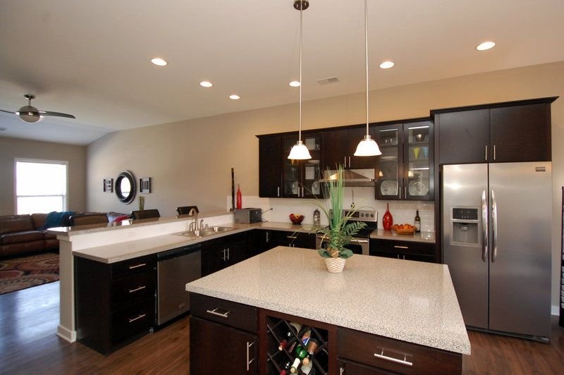 Large Square Kitchen Island kitchen of the coventry ii floor planball homes | kitchens