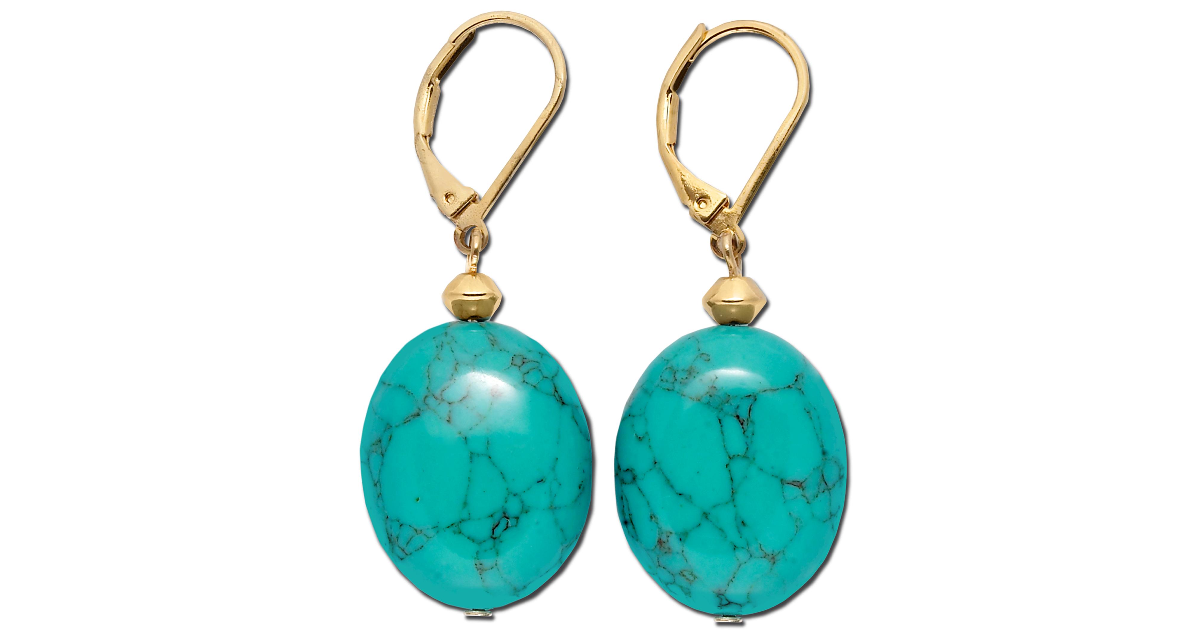 8da6c2290 Lauren Ralph Lauren Gold-Tone Stone Drop Earrings | Products ...