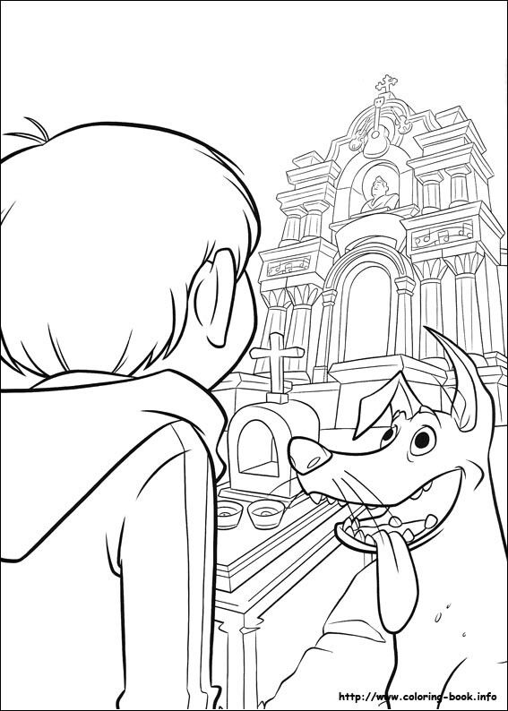 Pin Af An Vandezande Pa Coloring Pages Coco