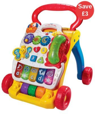 Baby Walkers Ride Ons Vtech First Steps Baby Walker And Brilliant