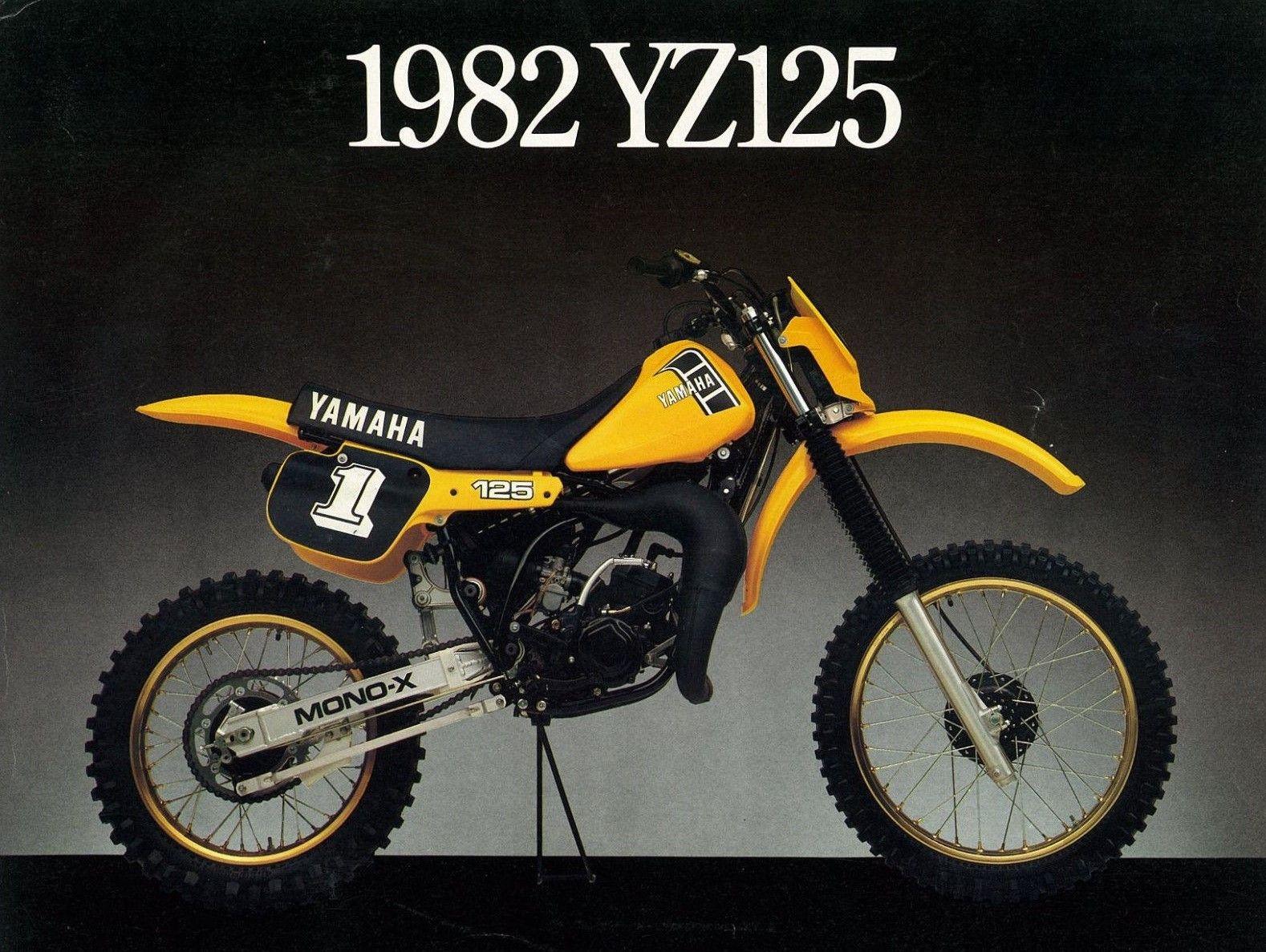 Yamaha yz 125 1982 usa