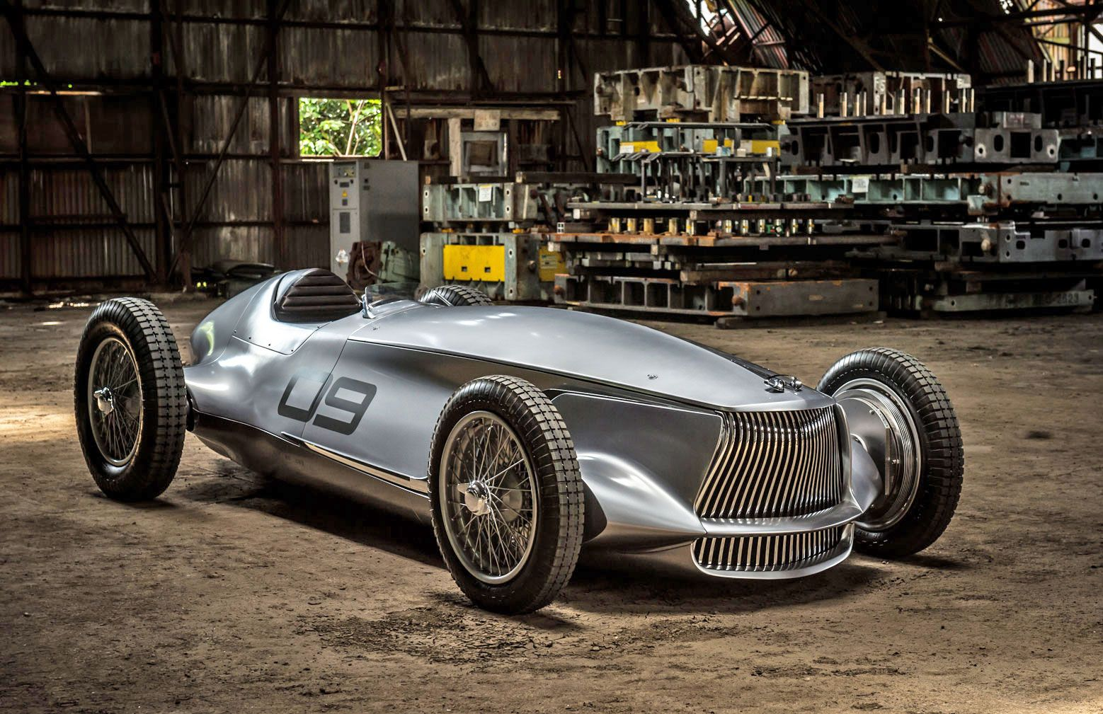 Infiniti prototype melds a 1940s race car with EV power | Cars and ...