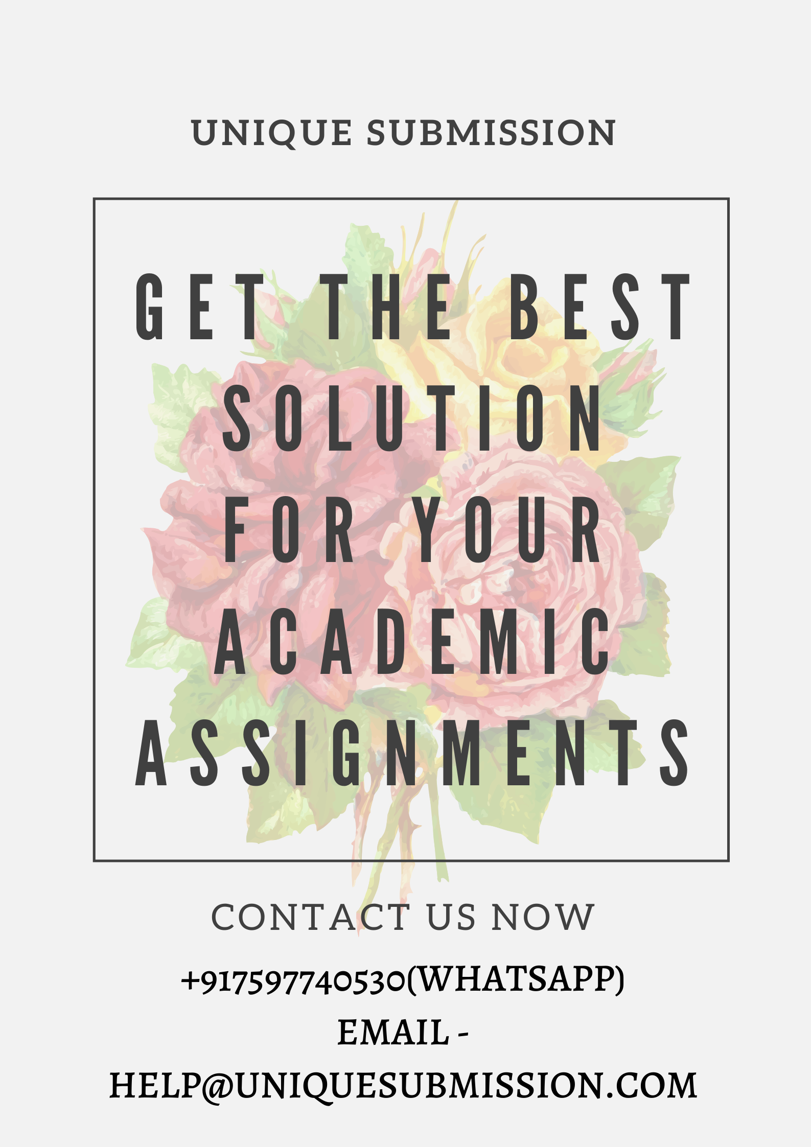 Academic research writing services