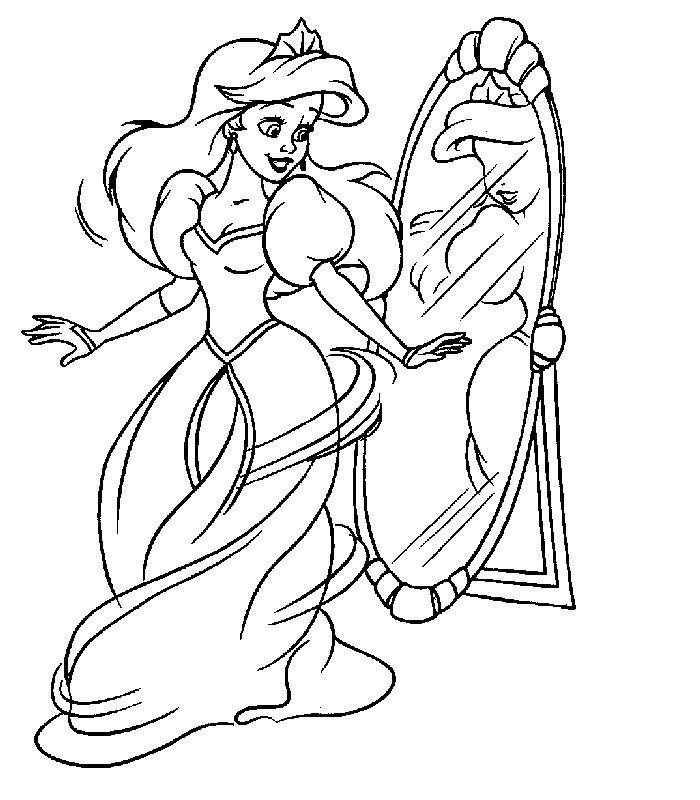 Dibujos para colorear - Disney | Disney!!! | Pinterest | Ariel and ...