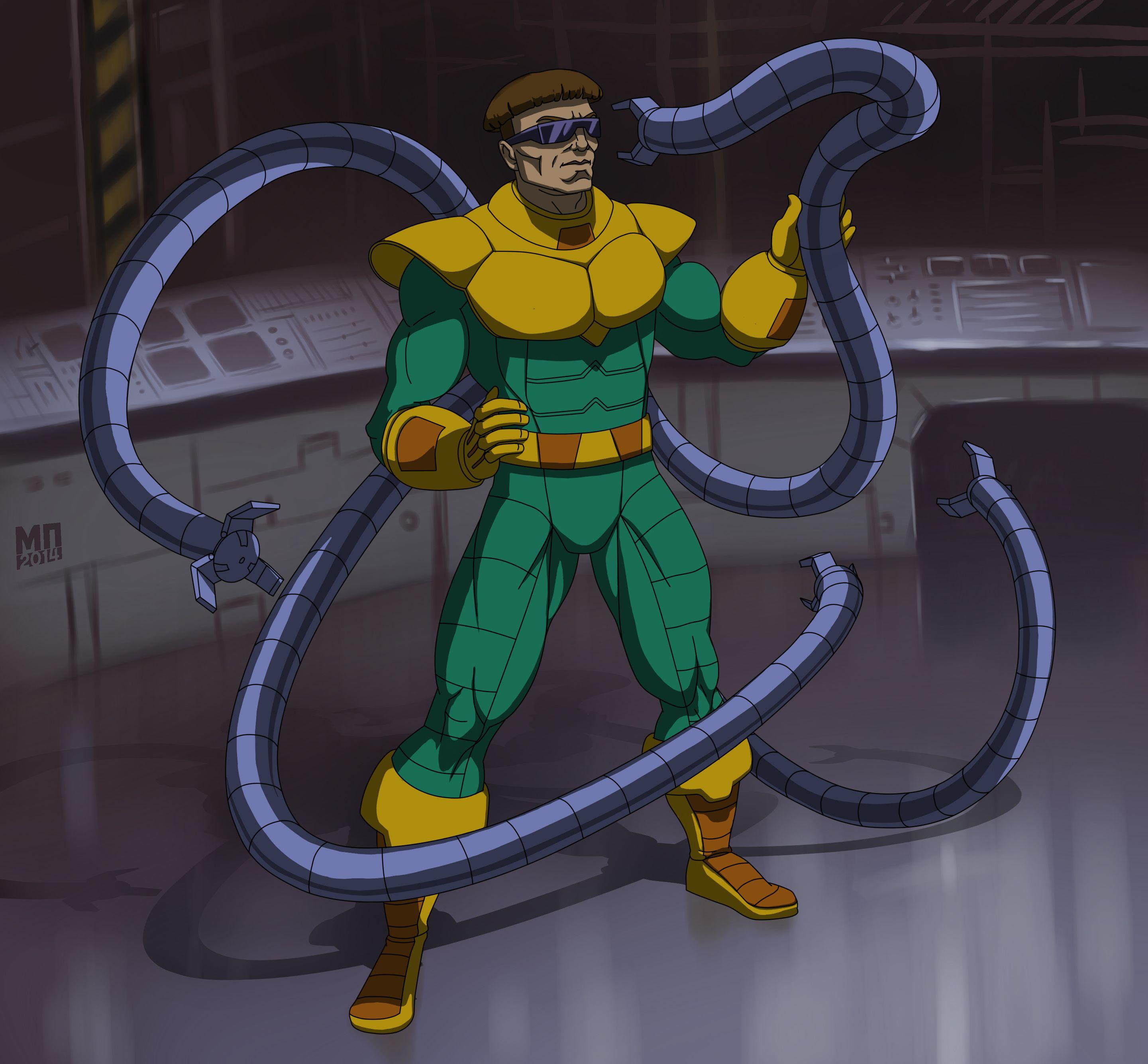фото доктор осьминог