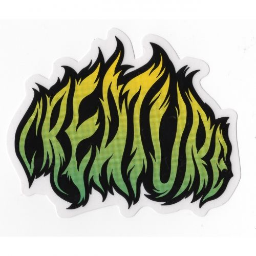 Creature skateboards creature ritual sticker 4 x 3 5 in