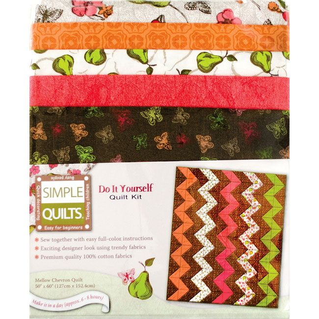 The mellow chevron quilt kit is a simple quilts do it yourself the mellow chevron quilt kit is a simple quilts do it yourself quilt kit from solutioingenieria Images