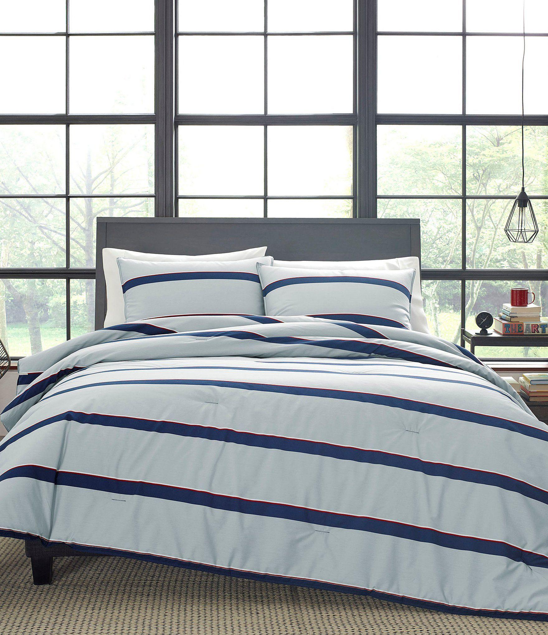 Nautica Fending Comforter Set Open Grey Twin Comforter Set