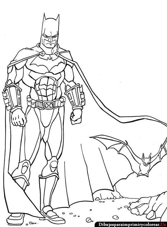 Dibujos de Batman para Imprimir y Colorear   Batman   Pinterest   Batman