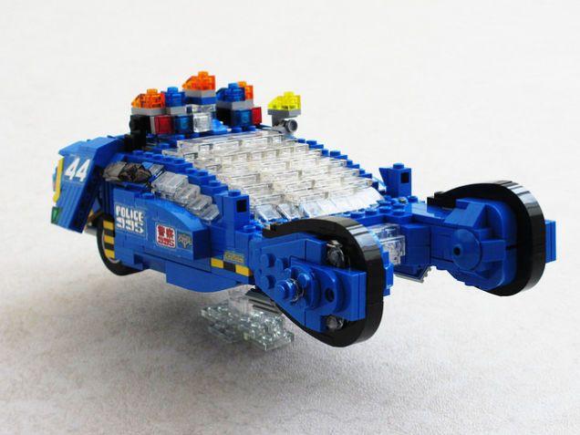 Lego Blade Runner Police Spinner   Legos, Blade and Lego police