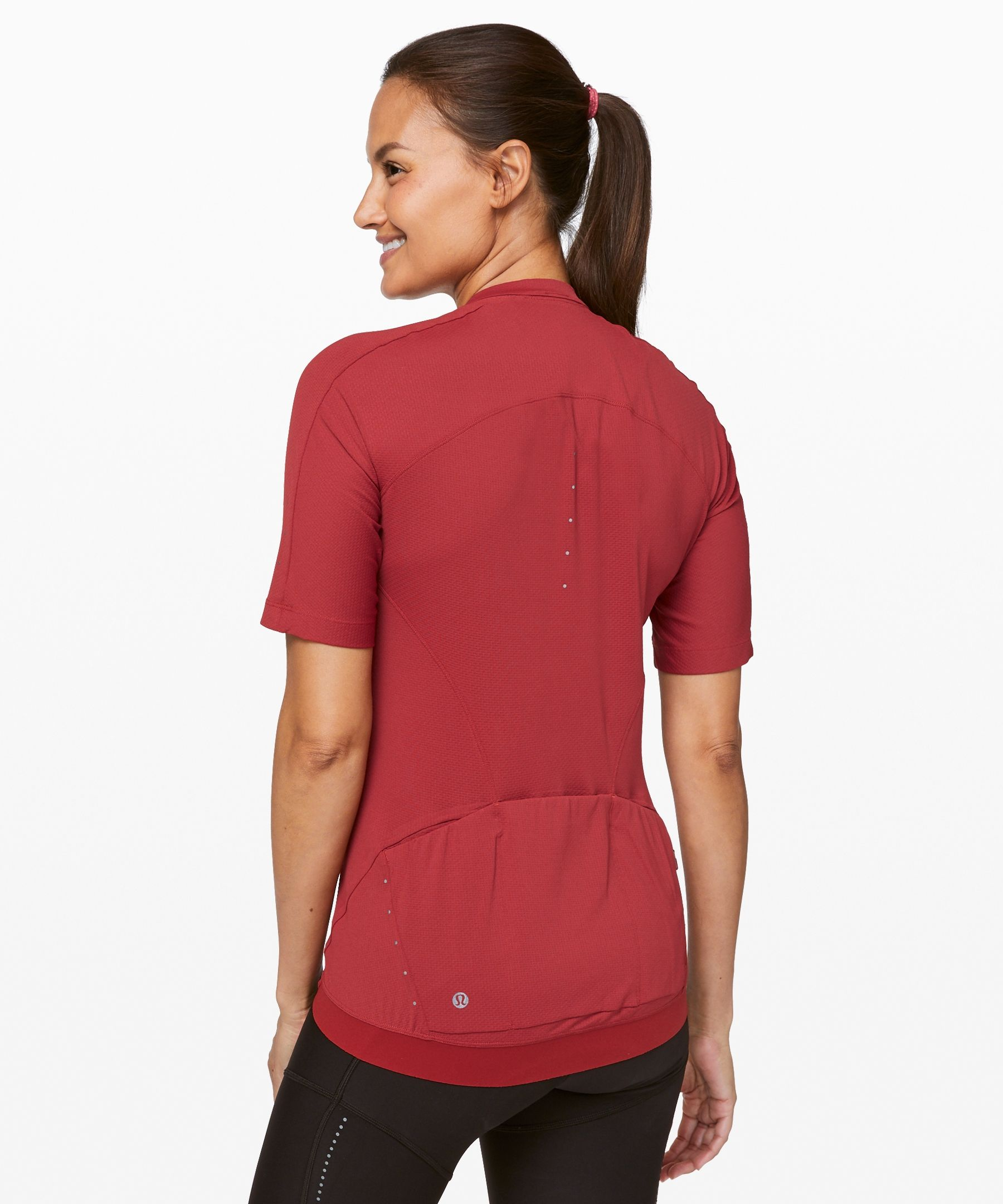 City To Summit Cycling Jersey Women S Short Sleeve Tops Short Sleeve Tops Women Lululemon Women Downhill Clothing