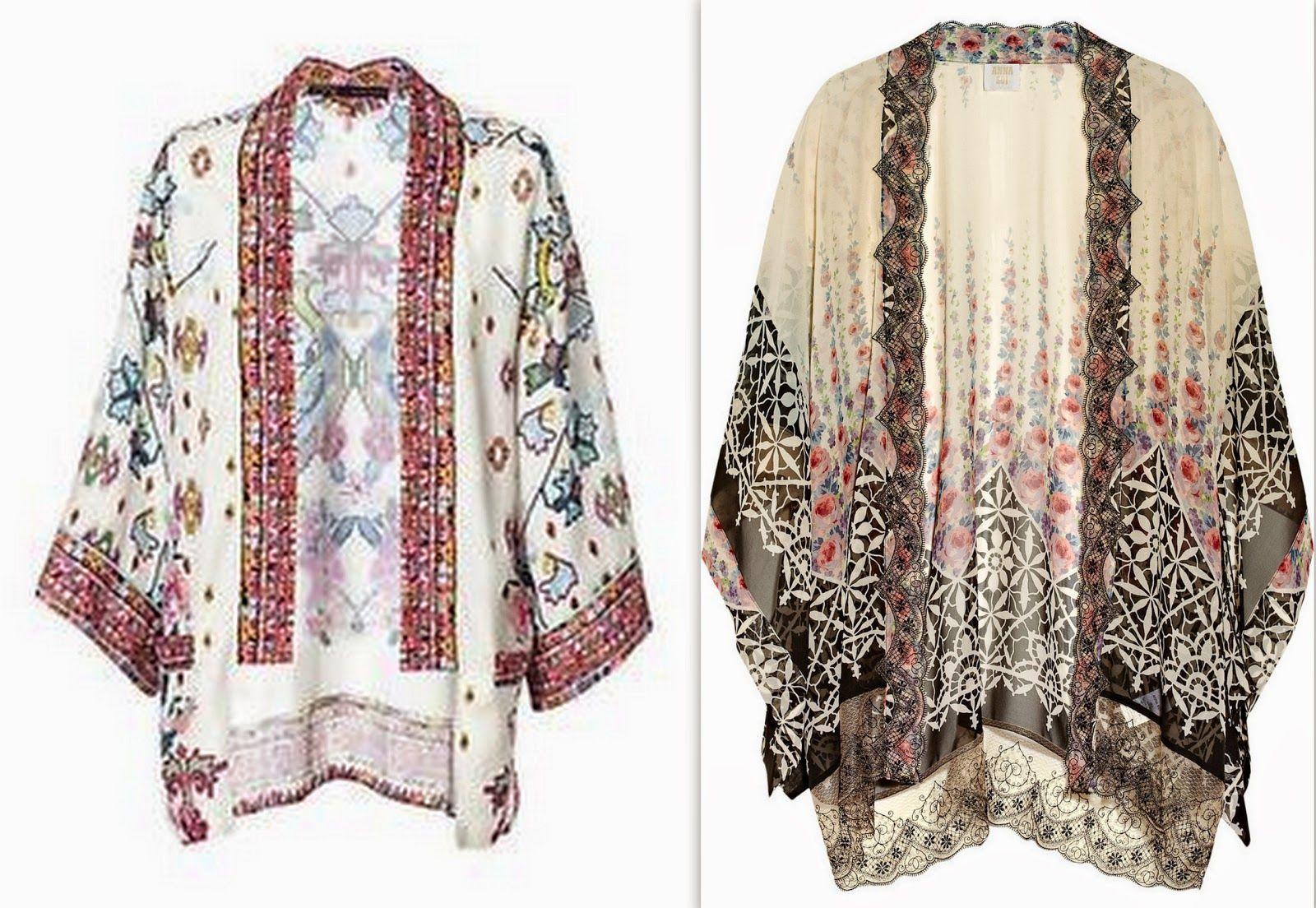 Style Sense Moments: Trend | Kimono jacket and how to make a kimono ...