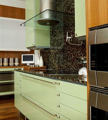 Inspirational Red Painted Kitchen Cabinets