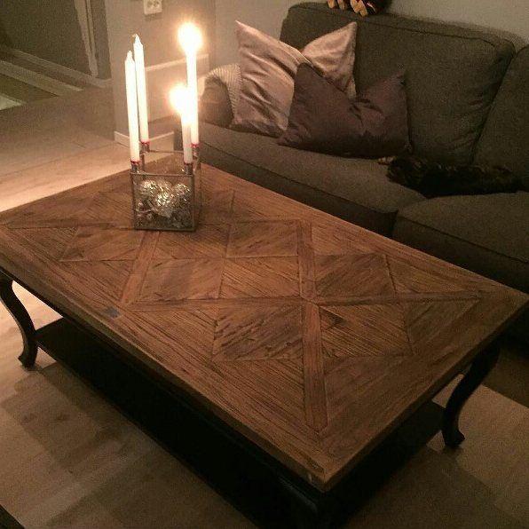 Nydelig stemning hos @idasinspirasjon  #classicliving #drivved #interior #furniture #home #design #parissalongbord