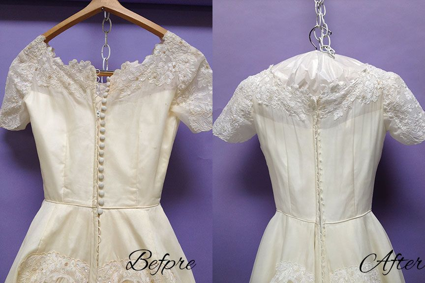 How To Restore Vintage Yellowed Lace With Baking Soda Cleaningtutorials Net Your Cleaning Solutions Old Wedding Dresses Sewing Wedding Dress Wedding Dress Sewing Patterns