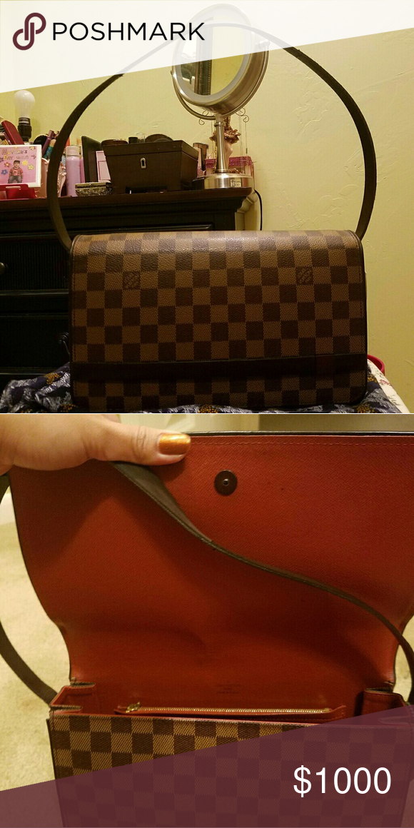 569e07767f0b Authentic LV Bag comes with a dust bag Little Scratches No trade and price  is negotiable. LV Bags Baby Bags