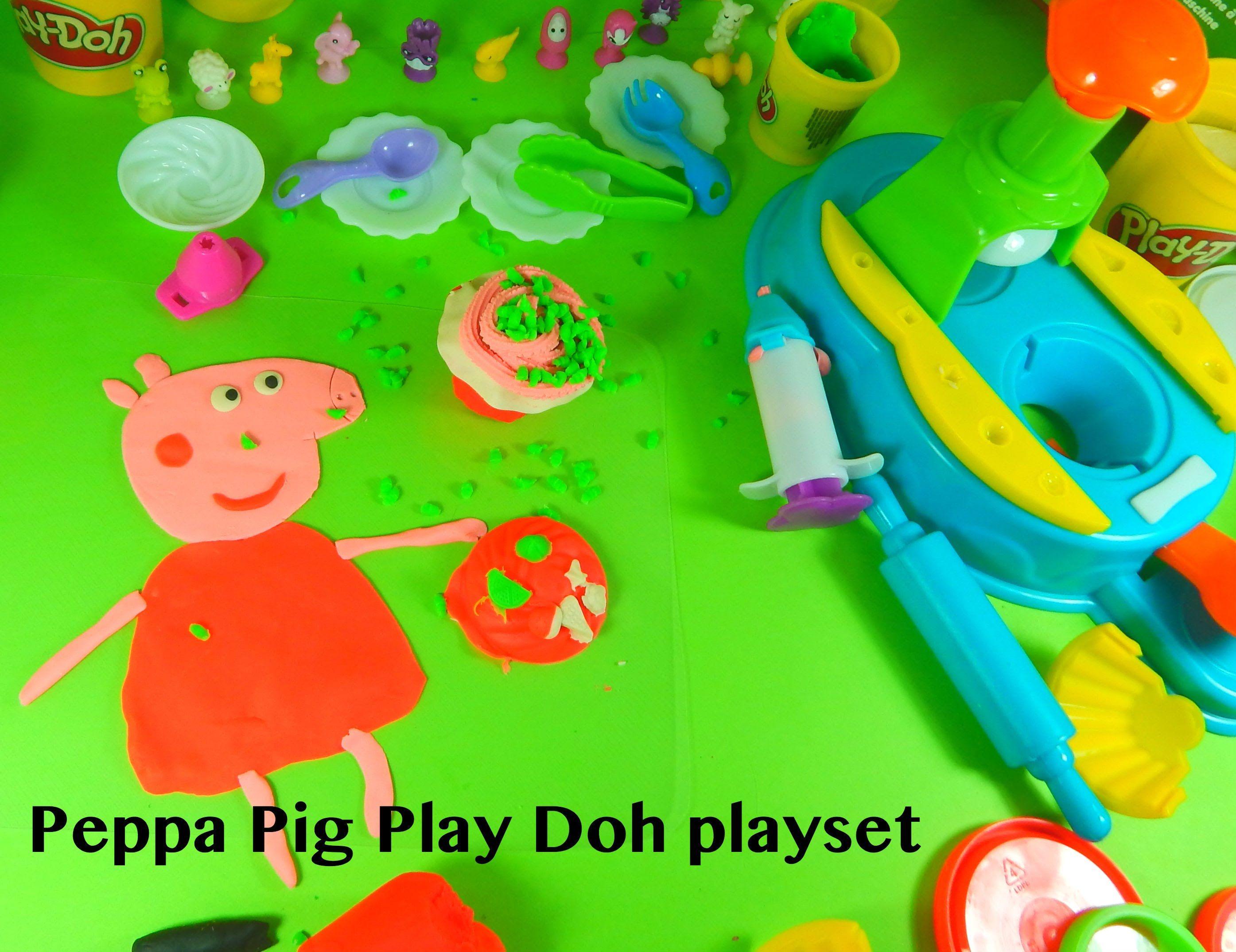 Plastilina Bambini ~ Peppa pig play doh ice cream candy horadekita play doh hello kitty