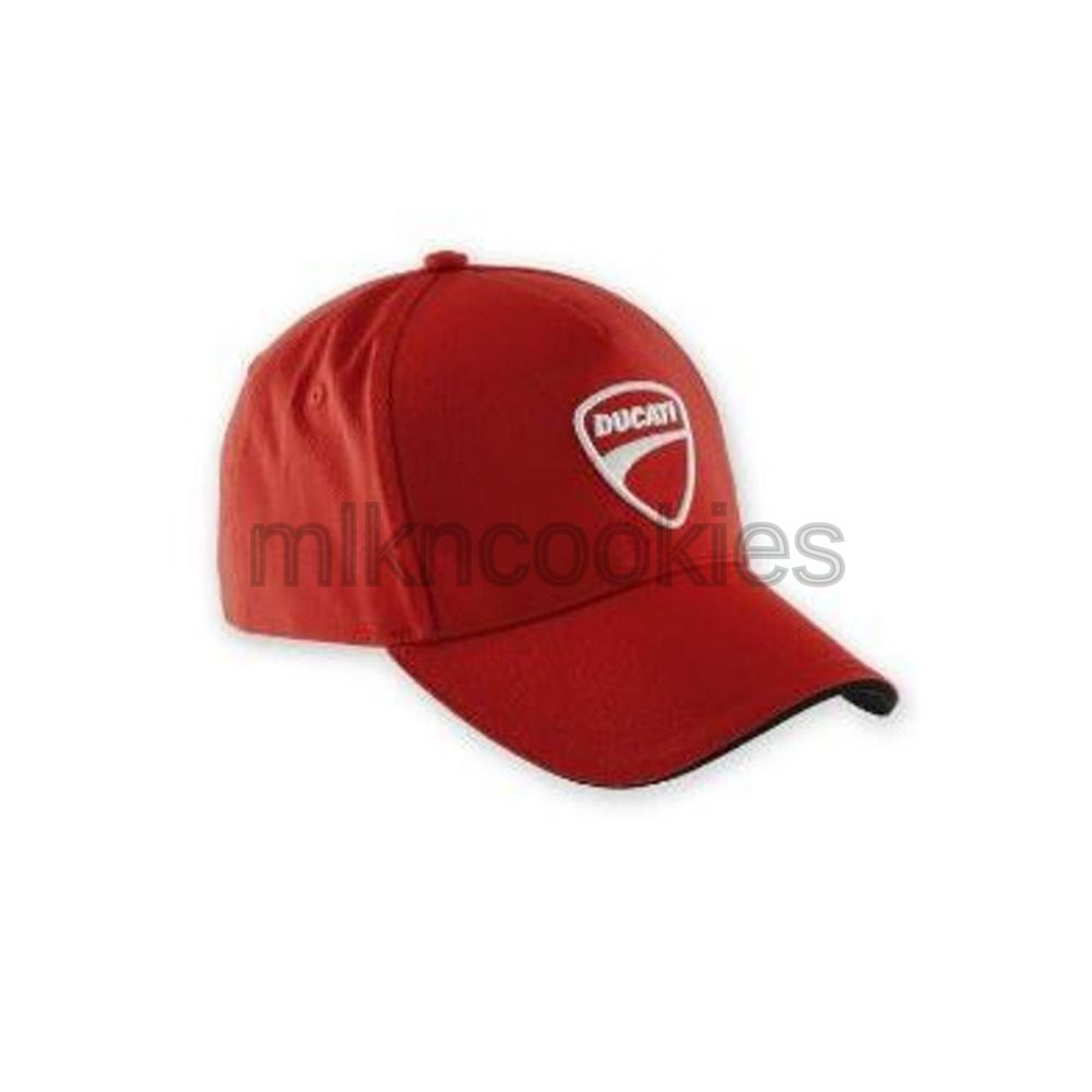 18285ce09 Ducati Company Hat Red 5 Panel Adjustable Embroidered 987688705 ...