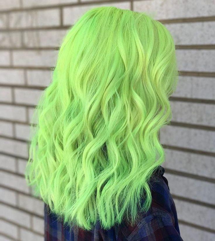 30 Glamorous Green Hair Styles Momooze Com 2: Pin On Green Hair