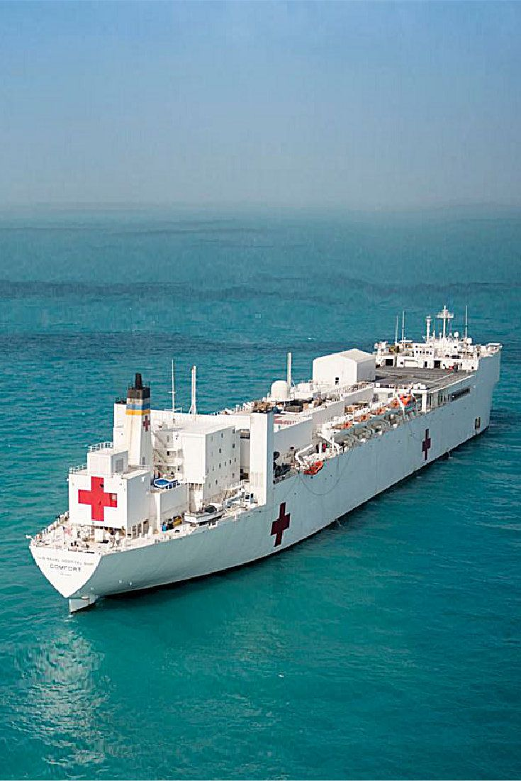 Military Sealift Command Hospital Ship Usns Comfort Us Navy Ships Navy Ships Navy Corpsman