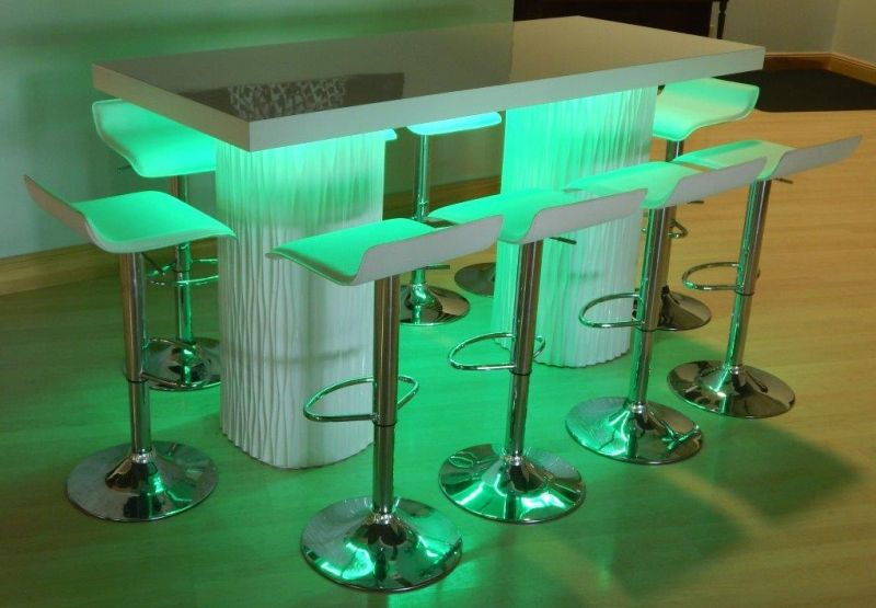 Wave High Top Communal Table RECEPTION Bars Lounges Pinterest - High top communal table