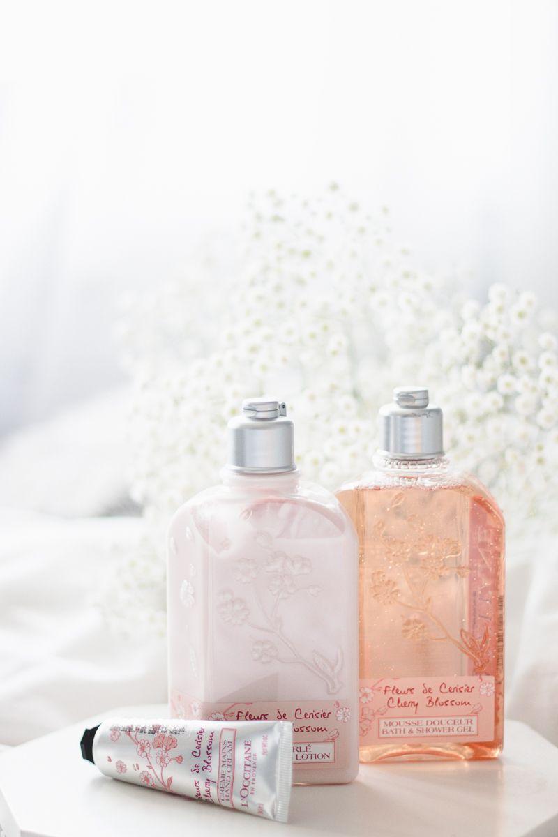 Cherry Blossom Loccitane En Provence Comprinhas Pins I Love Evelyn Parfum Riject Foto De Melina Souza Creme Mos Hidratante Corporal E Gel Banho Da