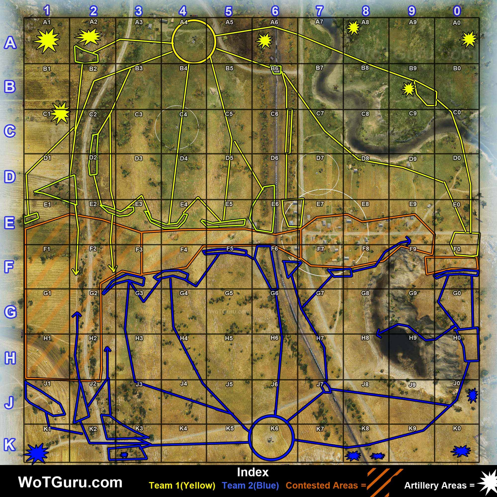 Mapstrategyprohorovka2 wot pinterest key a collection of world of tanks map strategy guides tailored for specific maps each guide will outline key areas routes and tactics to use gumiabroncs Choice Image